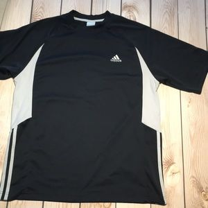 Adidas men's athletic shirt sleeve tee shirt